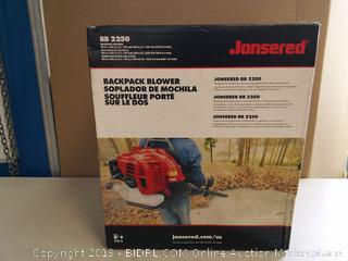 Jonsered Gas 692 CFM 251 MPH Backpack Leaf Blower (online $210)