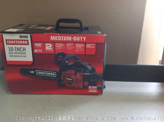 Craftsman Gas Powered Chainsaw (online $149)