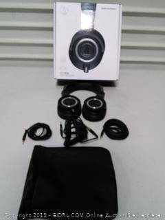 Audio-Technica ATH-M50x Professional Studio Monitor Headphones (online $131)