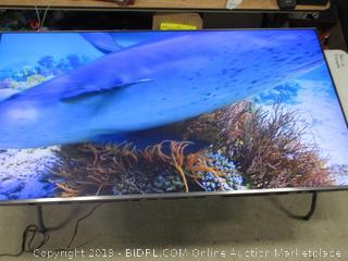 "Samsung QLED Tv 75"" Model Q6F (Powers On)"