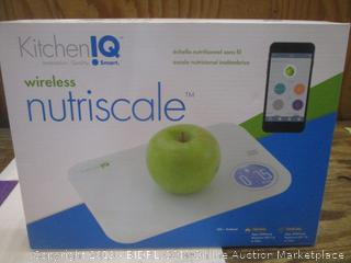 Kitchen IQ Wireless Nutriscale Factory Sealed