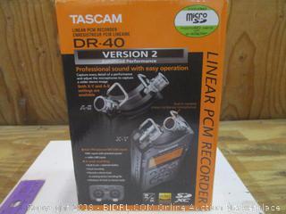 TASCAM  Linear PCM Recorder