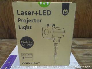 Laser+LED Projector Light