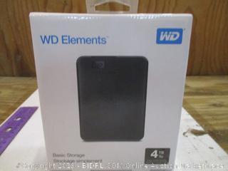 WD Elements Basic Storage