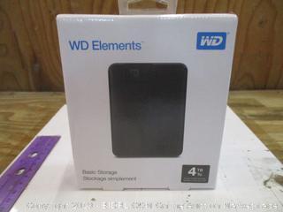 WD Elements Basic Storage Factory Sealed