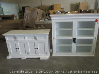 cabinet furniture items - damaged