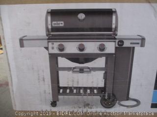 weber genesis II grill (new)