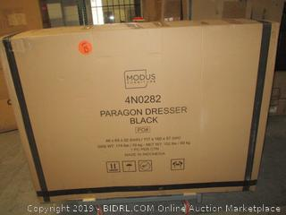 black paragon dresser - new