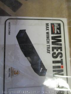 westin max winch tray