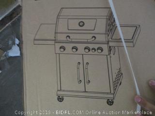 royal gourmet 4-burner gas grill with side burner