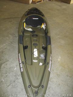 sundolphin journey 10 ss kayak - damaged