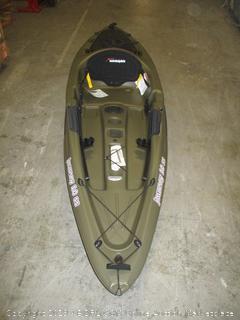 sundolphin journey 10 ss kayak - dented