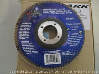zirconia beveled flap disc