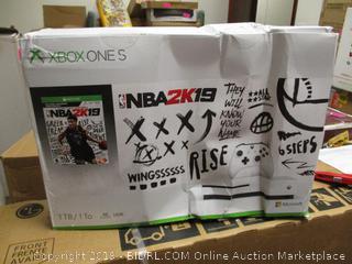 Xbox One S NBA2K19