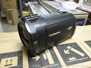 Panasonic 4K Video Camera