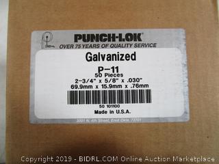Galvanized Rings