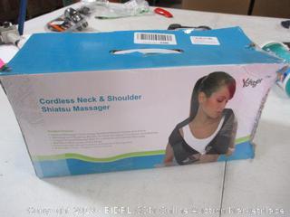 Cordless Neck and Shoulder Massager