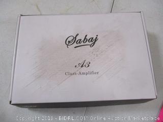 Sabaj A3 Class Amplifier