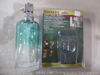 Stanley Light Timer Select and Lotion Dispenser