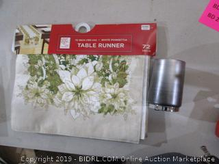 Table Runner and bath accessory