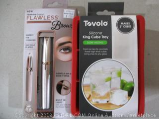 Flawless Brows and King Cube Tray