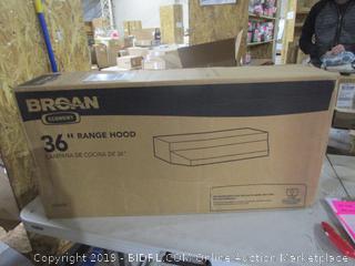 "Broan 36"" Range Hood"
