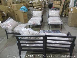 Outdoor Furniture Set in box See Pictures