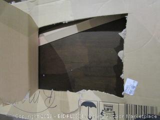 Mid Century Wide Desk  box damage