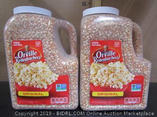 Orville Redenbacher's Popcorn Kernals - Two x 8# Jars