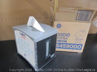 Dixie Ultra Easy Nap Tabletop Interfold Napkin Dispenser