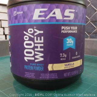 EAS 100% Whey Protein Powder