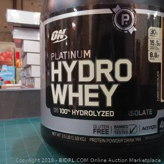 ON Platinum Hydro Whey