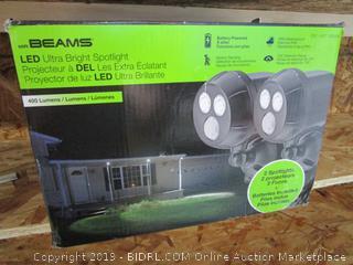 Mr. Beams LED Ultra Bright Motion-Sensory Security Lights (retail $59.99)