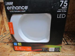 Feit Enhance LED Soft White Retrofit Light Kit 12.w/75w