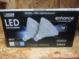 Feit Electric LED Dimmable Spot Light Bulbs 1000 Lumen PAR38 11.1W/90W