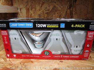 Feit Conserv-Energy PAR38 Reflector 23W/120W Flood Light Bulbs