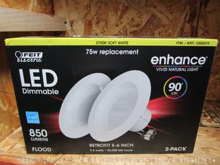 "Feit LED Dimmable Retrofit 5-6"""