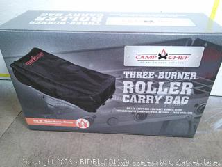 Camp Chef Rolling Carry Bag for Three Burner Stoves (online $64)