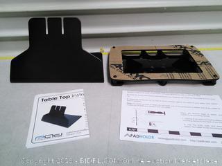 Padholdr Fit8 Series Tablet Holder Table Top Mount (online $40)