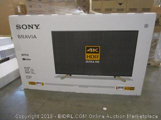 """Sony 55"""" Powers on See Pictures"""