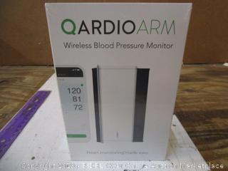 Qardioarm Wireless Blood Pressure Monitor factory sealed