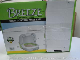 Breeze Litter Box with Hooded Oder Control System