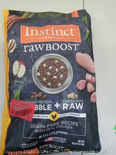 Pet Food - Instinct rawBoost Grain -Free Recipe