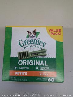 Greenies  Dental Treats - Box of Petite
