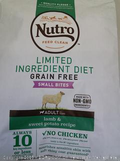 Dog Food - Adult - Nutro Small Bites (see notes)