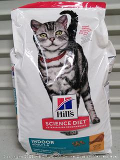 Hill's Science Diet Dry Cat Food (online $35)