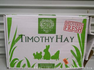 """Small Pet Select 2nd Cutting """"Perfect Blend"""" Timothy Hay Pet Food (online $30)"""