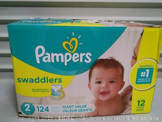 Pampers Swaddles Diapers
