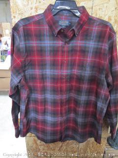 Pendleton Mason Mens Flannel Shirt XL