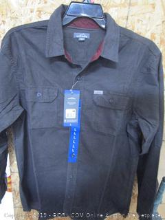 Eddie Bauer Mens Cross Cut Cord Shirt Large